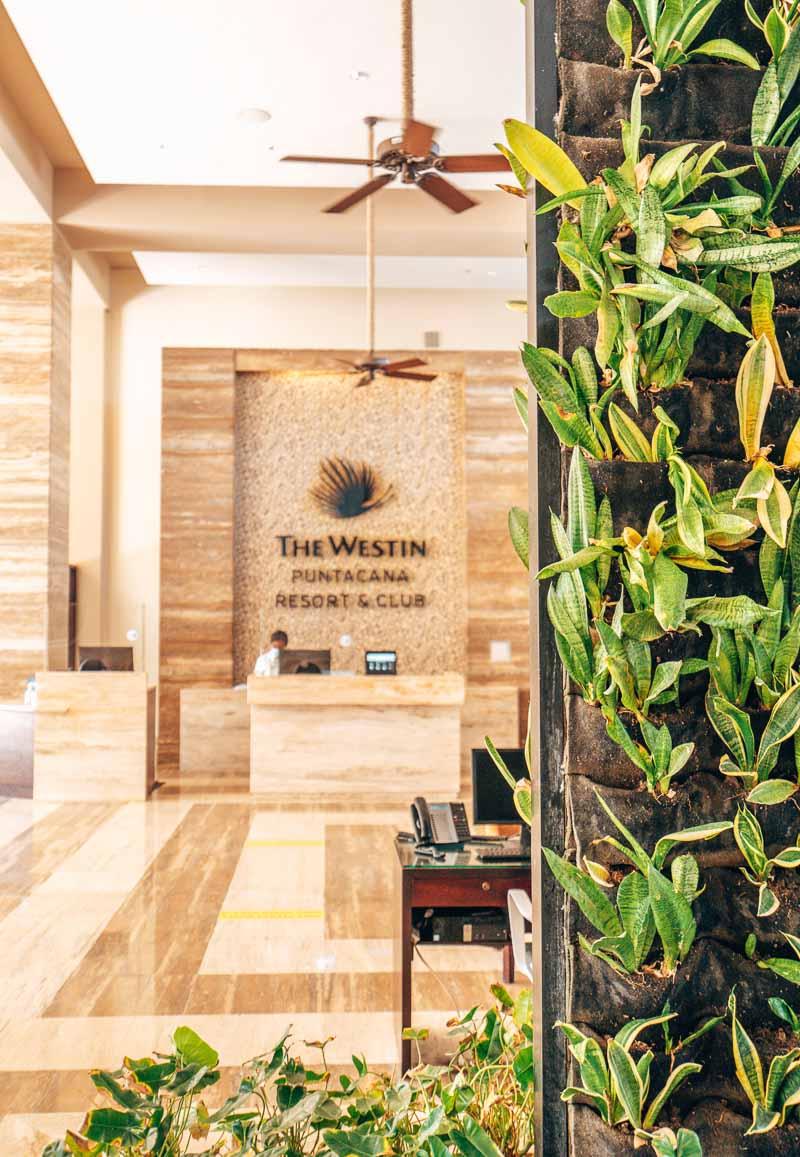 lobby Westin Punta Cana